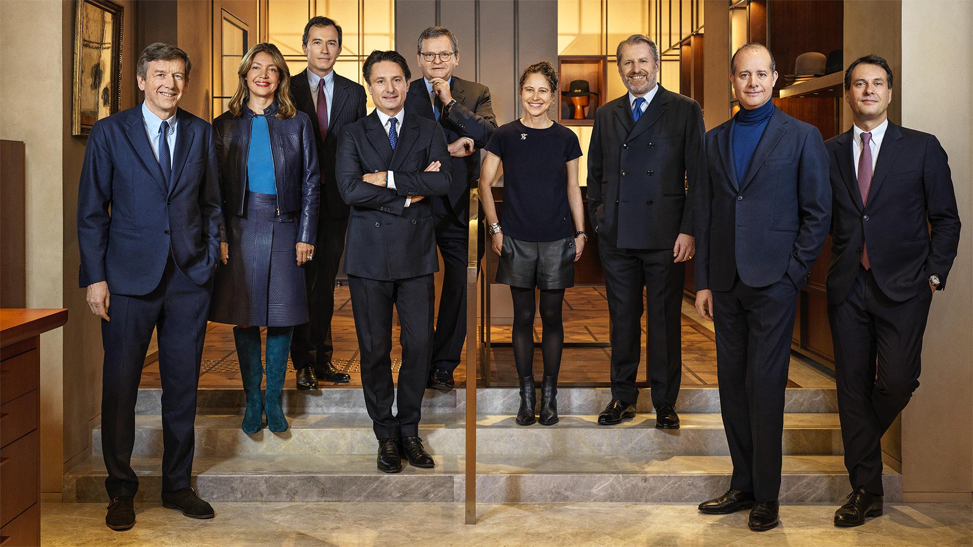 Le comité exécutif du groupe Hermès