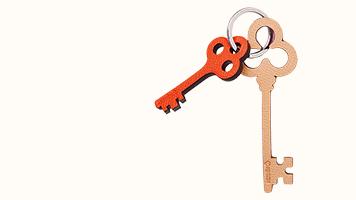 Porte-clés clés