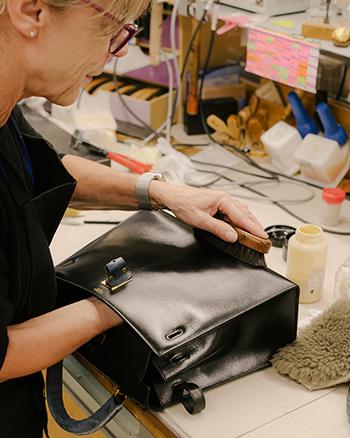 Atelier réparation sac