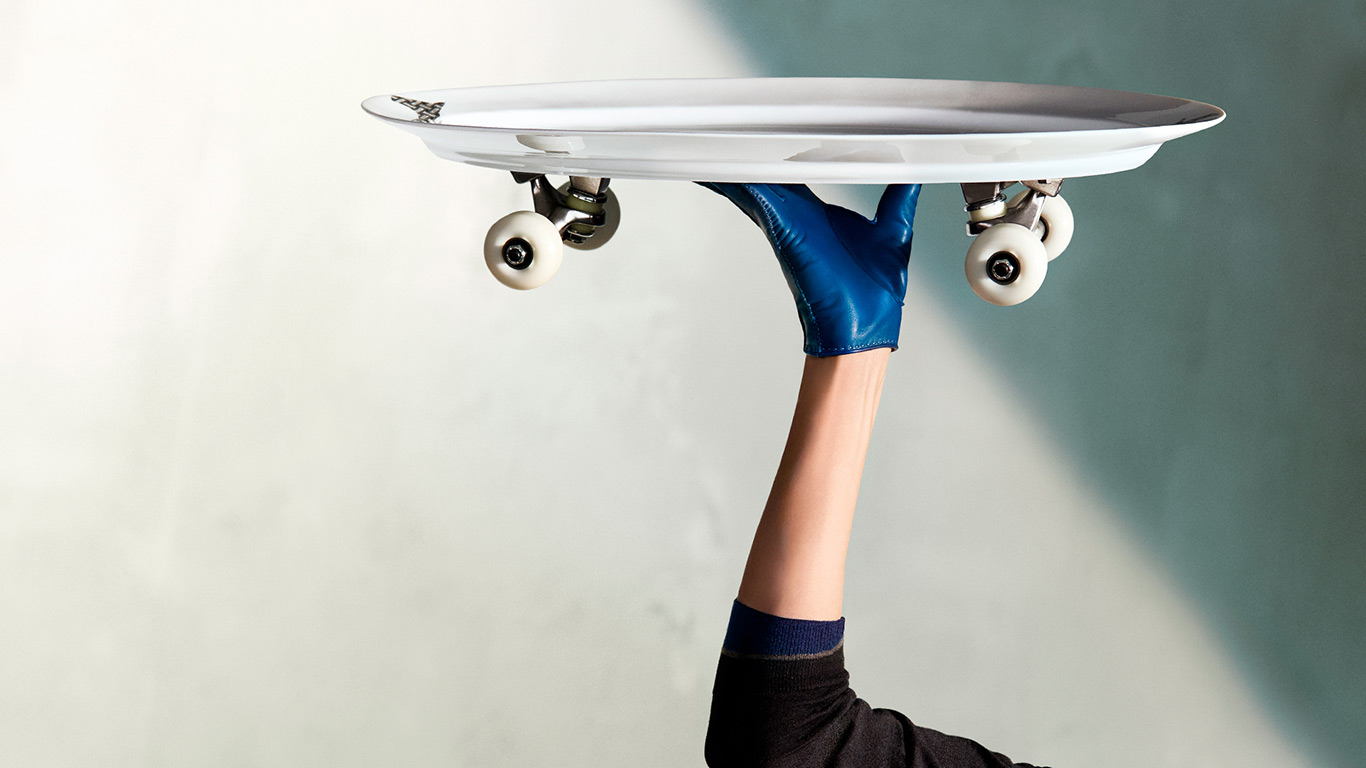 Hermès Petit h skate porcelaine